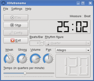 Drumstick Metronome