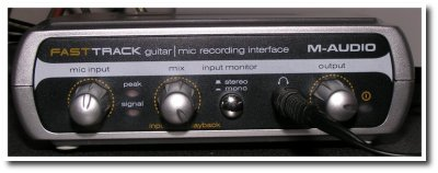 Used in M-Audio Fast Track
