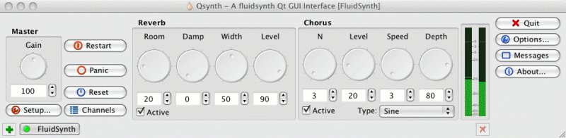 Linux MAO | FluidSynth