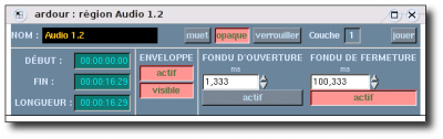 Used in Ardour 2 Editeur