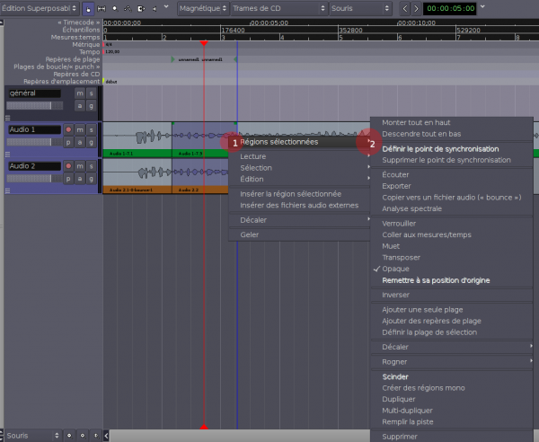 Used in Ardour 2 Editer