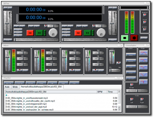 Interface de DJPlay
