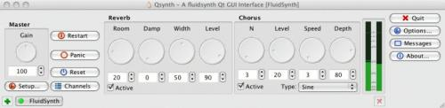 Used in FluidSynth