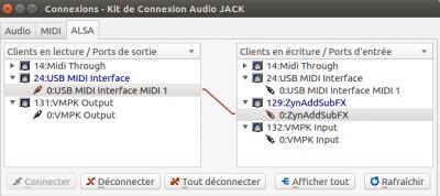 Linux MAO | Problème de reconnaissance MIDI - Clavier Yamaha NP-31
